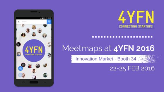 Meetmaps at 4YFN during Mobile World Congress 2016