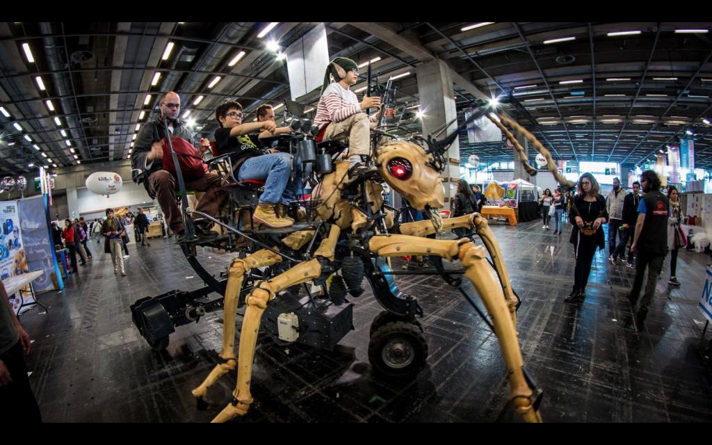 Robots en eventos