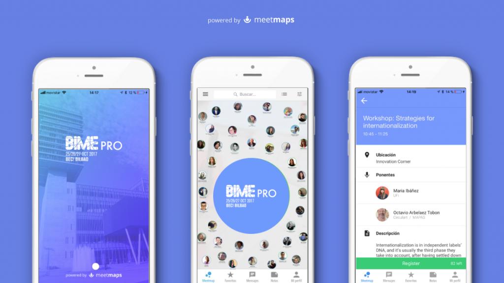 Bime Pro Meetmaps