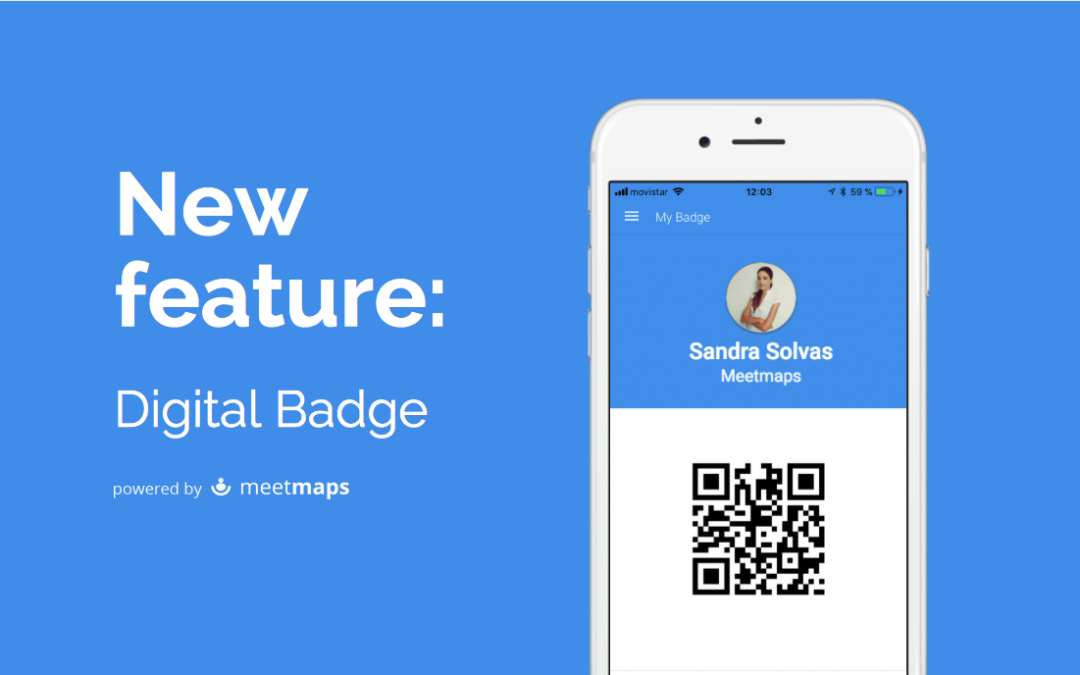 Digital Badge for your event attendees thanks to Event App