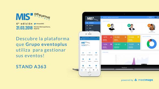 Meetmaps en Meeting & Incentive Summit (MIS) y los Disruptive Meetings