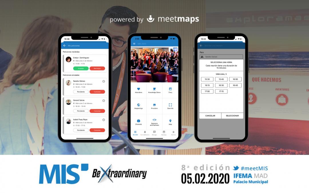 Meetmaps sponsor oficial del MIS