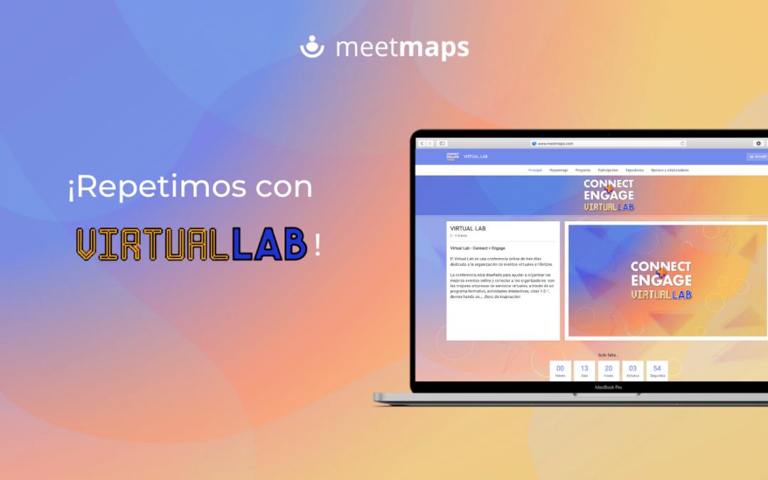 ¡Meetmaps vuelve a ser la plataforma de la segunda edición del VIRTUAL LAB de Grupo Eventoplus!