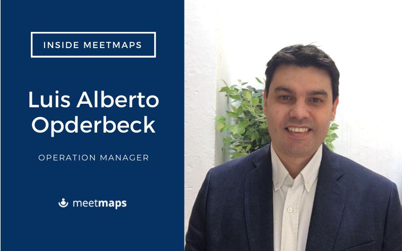 Meetmaps incorpora a Luis Alberto Opderbeck, como Operation Manager de gestión de registro y control de accesos